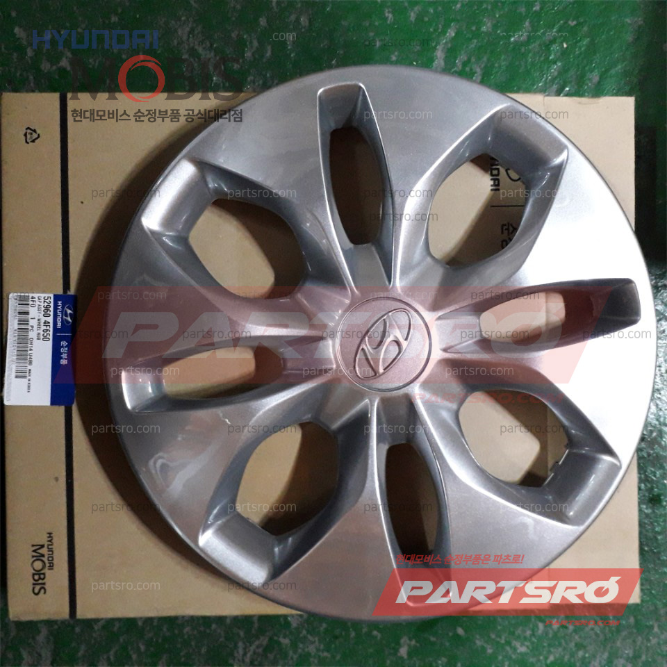 현대모비스 순정 휠캡 허브캡 리어 (529604F650) 포터2