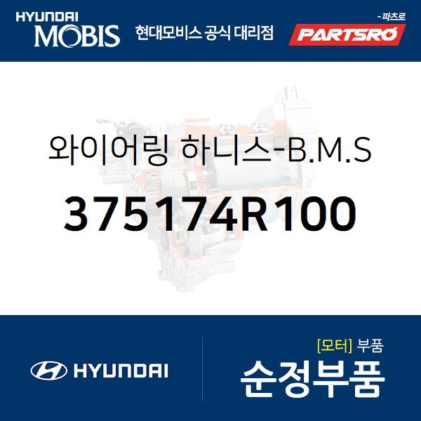 와이어링 하니스-B.M.S (375174R100) 그랜저 하이브리드, 쏘나타YF 하이브리드 현대모비스부품몰