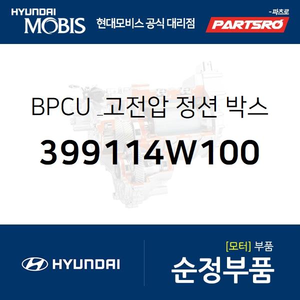 BPCU&고전압 정션 박스 (399114W100) 투싼 수소차 현대모비스부품몰